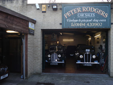 Peter Rodgers Car Sales Yorkshire Vintage Classic And Used Car